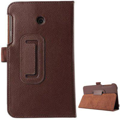 PU Leather Material Foldable Case with Stand for ASUS Fonepad 7 FE7010CG