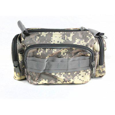 Full Function Multi - layered Camouflage Waist Bag Outdoor Accessories