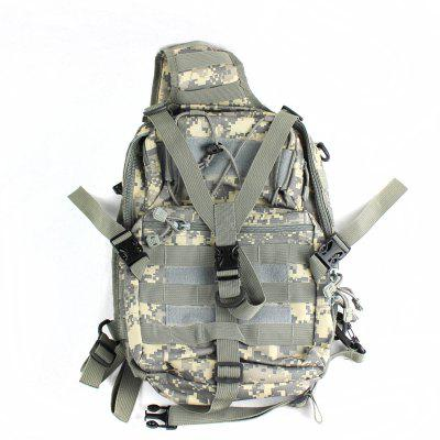 Multifunctional Nylon Camouflage Single / Sling Shoulder Bag for Outdoor Activities