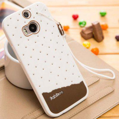 Fabitoo Silicone Back Cover Case for HTC One 2 M8