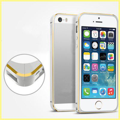 Torras Stylish Frame Style Aluminium Alloy Bumper Case for iPhone 5 5S