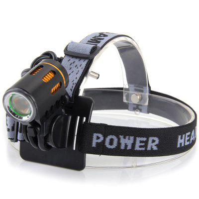 Dark Knight K2F 2 x Cree XML - T6 LED Bicycle Tail Light Front Lamp ( 2400LM 7000K )