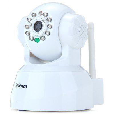 AP001 0.3MP P2P MJPEG Pan - Tilt Wireless IP Camera with Motion Detection  -  100  -  240V