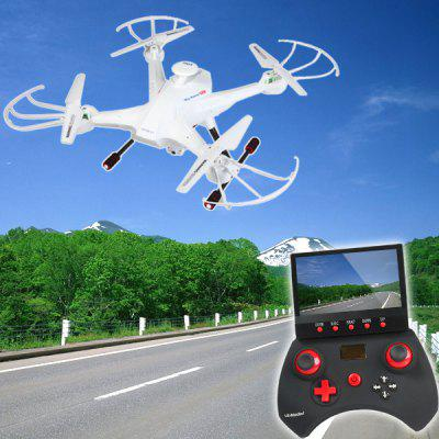 Lian Sheng LS  -  128 Sky Hunter FPV RC Quadcopter with HD Camera RTF Real Time Transmission Headless Mode 2.4GHz 6 Axis Gyro Stumbling UFO
