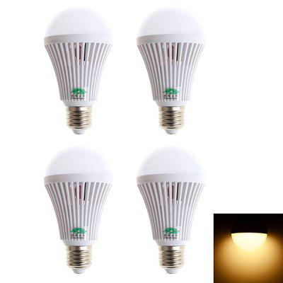 2 Pairs of Zweihnder 800LM E27 9W SMD 2835 32 LEDs Globe Bulb Household Light ( 3000  -  3500K )