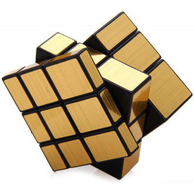 Buy GOLDEN Shengshou Challenging 3x3x3 Brushed Golden Cube Puzzle Toy for $4.59 in GearBest store