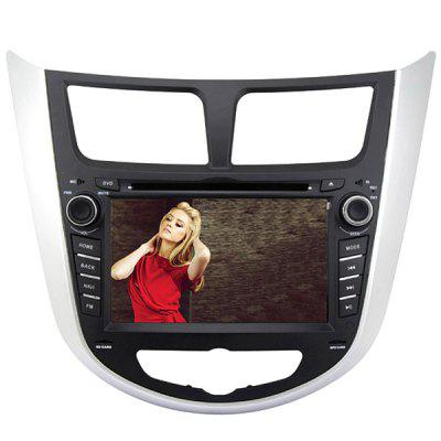 Rungrace RL - 499WGAR02 7 inch ISDB - T In - Dash Car DVD Player for Hyundai Verna