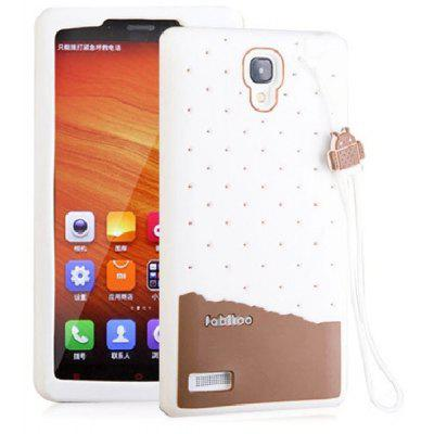 Buy WHITE Fabitoo Lanyard Design Silicone Back Cover Case for Redmi Note for $5.37 in GearBest store