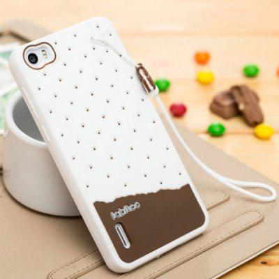 Fabitoo Lanyard Design Silicone Back Cover Case for Huawei Honor 6