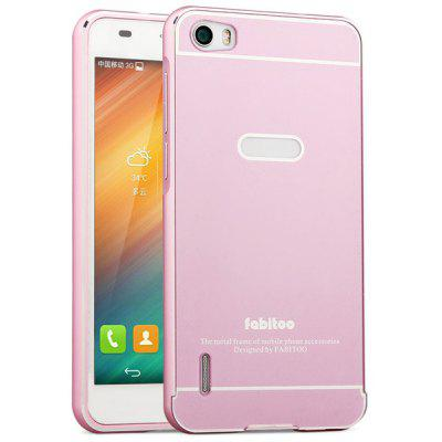 Fabitoo Frame Style Aluminium Alloy Bumper with PC Back Case for Huawei Honor 6