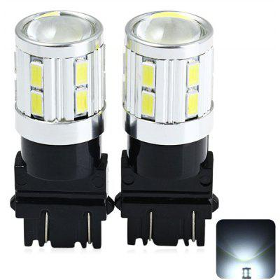 2 x Sencart 3157 W2.5X16Q P27 480Lm 5W 16 SMD 5730 LED-uri Vehicul Light Light