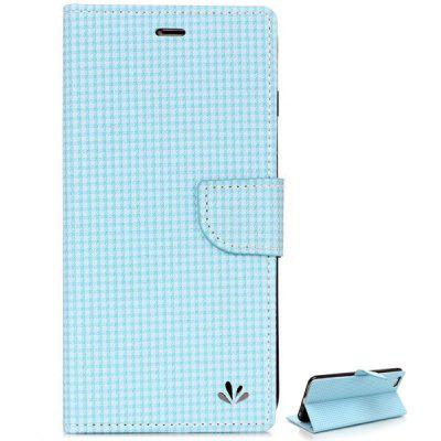ViLi PU and PC Material Grid Design Cover Case for iPhone 6 Plus  -  5.5 inches