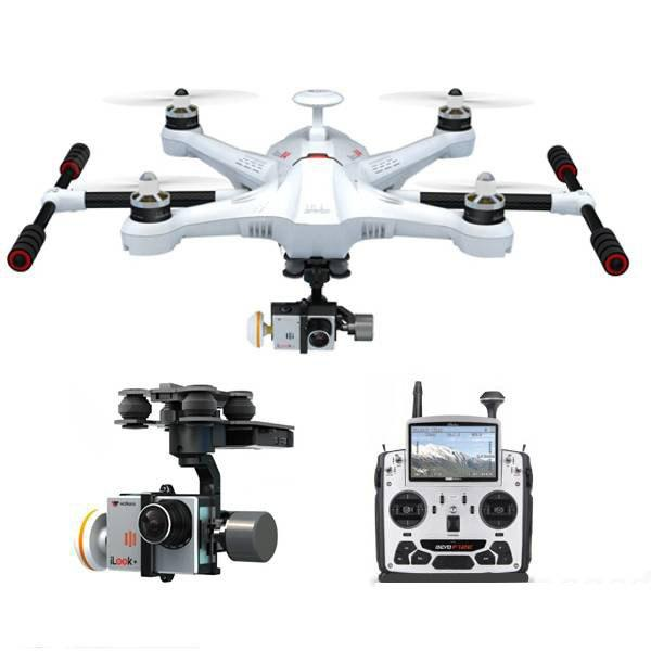 Walkera Scout X4 FPV2 GPS RC Quadcopter with ILOOK+ Camera / DEVO F12E RC  Transmitter / Battery / Ground Station / 3D Gimbal