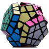 Shengshou Megaminx Dodecahedron Magic Cube Educational Toy - BLACK
