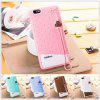 Fabitoo Lanyard Design Silicone Back Cover Case for Huawei Honor 4X - WHITE