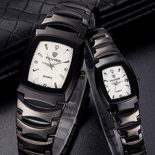 Tevise 141 Quartz Watch Business Wristwatch Stainless Steel Strap for Couple