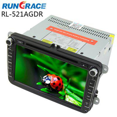 Rungrace RL - 521AGDR 8 inch DVB - T In - Dash Car DVD Player for Volkswagen