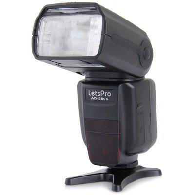 Multifunctional Letspro Speedlight Multi Flash Mode Video Equipment for Nikon AD - 360N