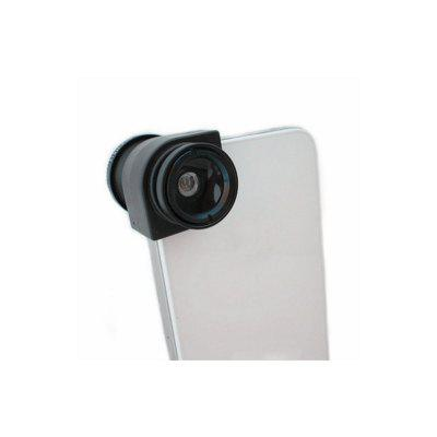 LX - 01 Detachable Wide Angle + Micro + Fisheye Macro Camera Lens Kit