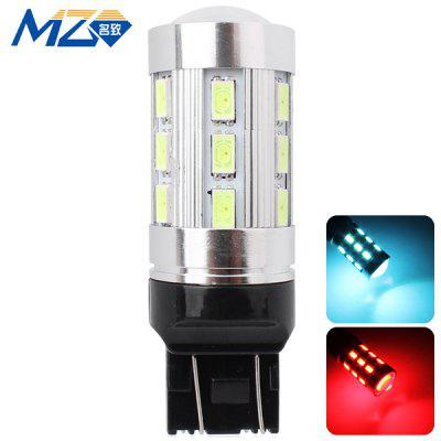 Buy MZ T20 12W 1200lm Ice Blue and Red Light 24 SMD 5630 LEDs Car Backup Light  (12 24V ) for $9.31 in GearBest store
