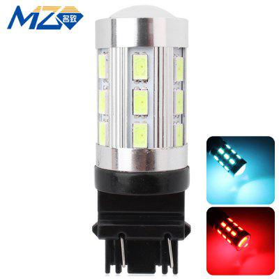 Buy MZ T25 12W 1200lm Ice Blue and Red Light 24 SMD 5630 LEDs Car Backup Light  (12 24V ) for $9.31 in GearBest store