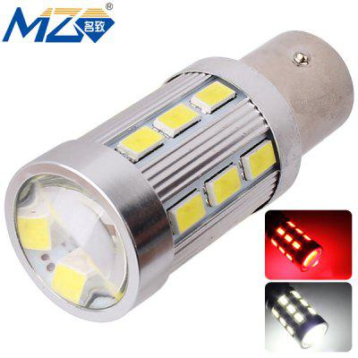 Buy MZ 1157 12W 1200lm White and Red Light 24 SMD 5630 LEDs Car Backup Light  (12 24V ) for $9.31 in GearBest store
