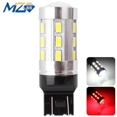 Buy MZ T20 12W 1200lm White and Red Light 24 SMD 5630 LEDs Car Backup Light  (12 24V ) for $9.31 in GearBest store