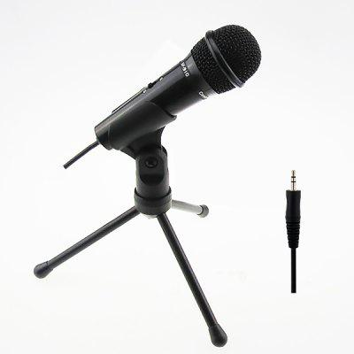 Classic Desktop Microphone Omnidirectional Dynamic Condenser Sound MIC with Tripod