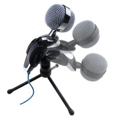 sf 922 high definition flexible desktop mic microphone for gopro