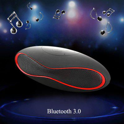 X6U Wireless Bluetooth 3.0 Hands-free Phone Speaker Stereo Audio Player Built-in Lithium Battery