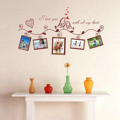 Photo Frame Pattern Wall Stickers for Bedrooms