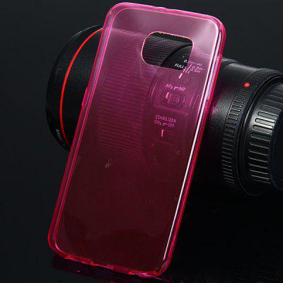 Ultrathin Transparent TPU Material Back Cover Case for Samsung Galaxy S6 G9200
