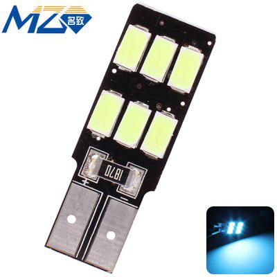 Buy MZ T10 3W 270lm Ice Blue Light 6 SMD 5630 LEDs 12V Car License Plate Lamp Width Light for $1.41 in GearBest store