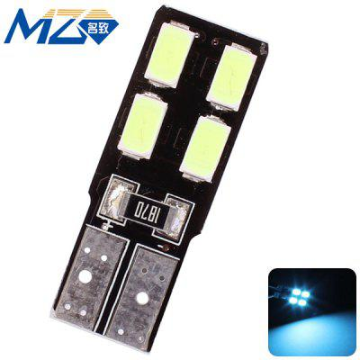 Buy MZ T10 2W 180lm Ice Blue Light 4 SMD 5630 LEDs 12V Car License Plate Lamp Width Light for $1.33 in GearBest store