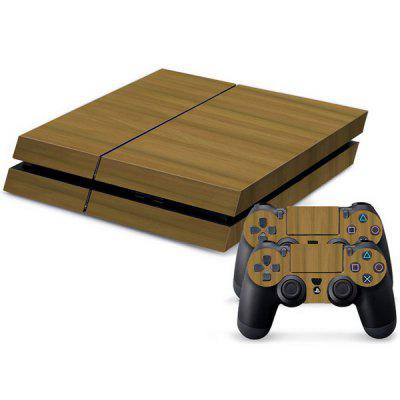 Grain Pattern Stickers for PS4 Game Player Handle
