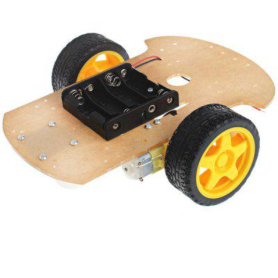 Arduino Compatible DIY Motor Smart Robot Car Chassis Kit 2 WD
