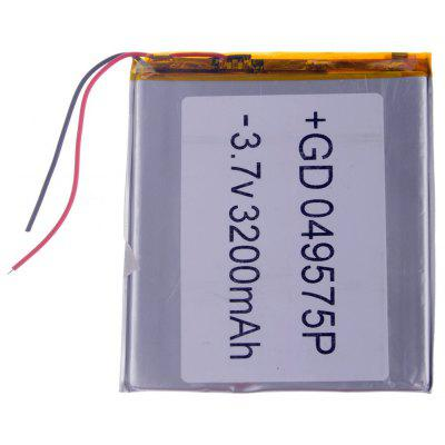 049575P Universal Replacement 3.7V 3200mAh Li - polymer Rechargeable Battery for 7 - 10 inch Tablet PC