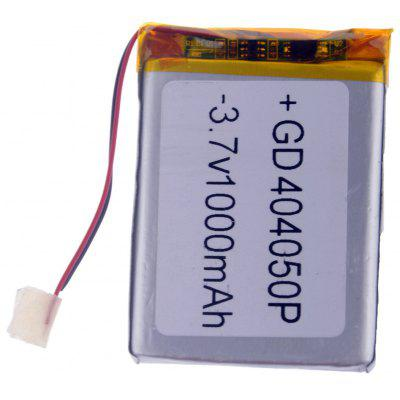 Buy SILVER 404050P Replacement 3.7V 1000mAh Li polymer Battery for Cellphones MP3 MP4 Player for $3.99 in GearBest store