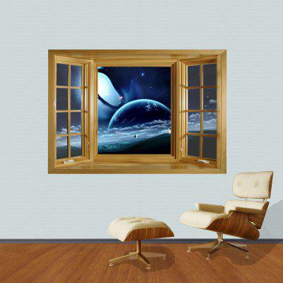 3D Universe Scenery Pattern Home Appliances Decoration Wall Sticker