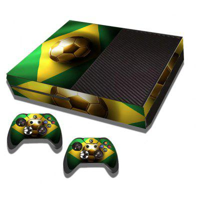 Football Style Game Console Gamepad Controller Stickers Skin for Xbox One  ...