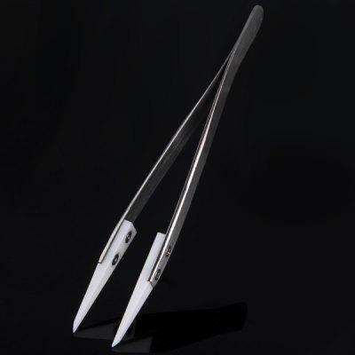 Insulated Zirconia Ceramics Duckbilled Tweezer for E - Cigarette Atomizer Heating Coil