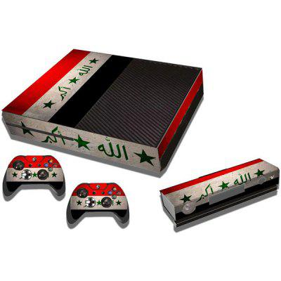 Star Stripe Pattern Style Game Console Gamepad Decal Sticker for Xbox One