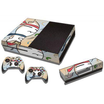 MashiMaro Pattern Style Game Console Gamepad Sticker for Xbox One