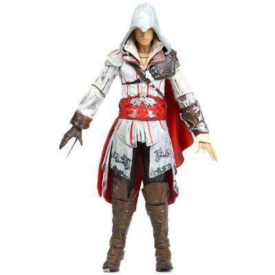 18cm Assassins Creed Generation 1 Ezio Auditore Da Firenze FigureMovies &amp; TV Action Figures<br>18cm Assassins Creed Generation 1 Ezio Auditore Da Firenze Figure<br><br>Age: over 3 years old<br>Feature Type: European and American<br>Material: PVC<br>Package Contents: 1 x 18cm Ezio Action Figure<br>Package size (L x W x H): 32.00 x 17.00 x 6.50 cm / 12.58 x 6.68 x 2.55 inches<br>Package weight: 0.245 kg<br>Product size (L x W x H): 7.00 x 3.00 x 18.00 cm / 2.75 x 1.18 x 7.07 inches<br>Product weight: 0.133 kg
