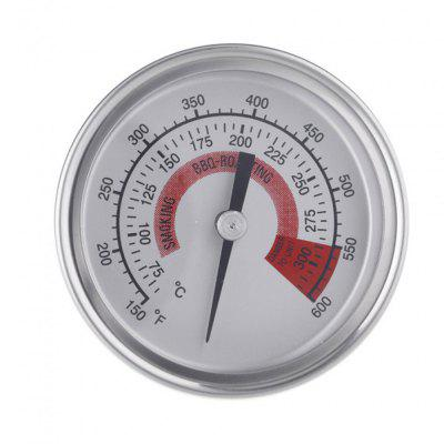 Dual Gage Stainless Steel Temperature Measurement Control Thermometer