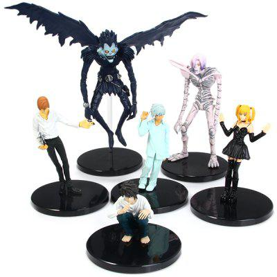 Japan Anime Death Note L Killer Ryuuku Rem Misa PVC Action Figures Toys for Kids