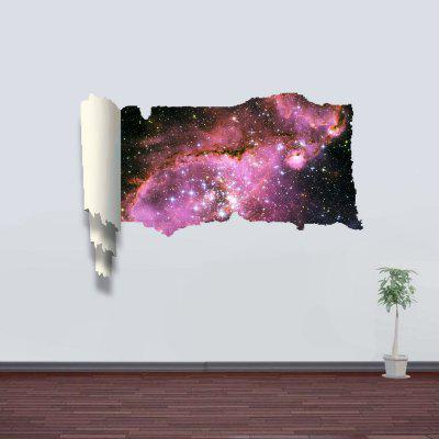 Nebula Pattern Home Appliances Decoration 3D Wall Sticker