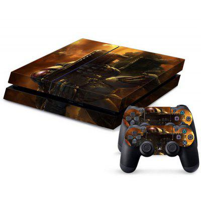Starcraft Pattern Style Game Console Gamepad Full Body Sticker for PS4