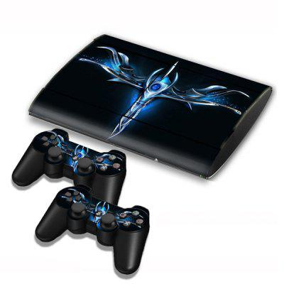 Game Console Gamepad Controller Stickers Skin Protector  for PS3 Slim 4000