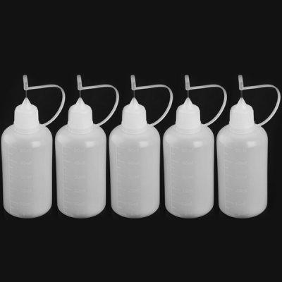 5pcs / Pack 50ml E-juice Refiller Oil Bottle